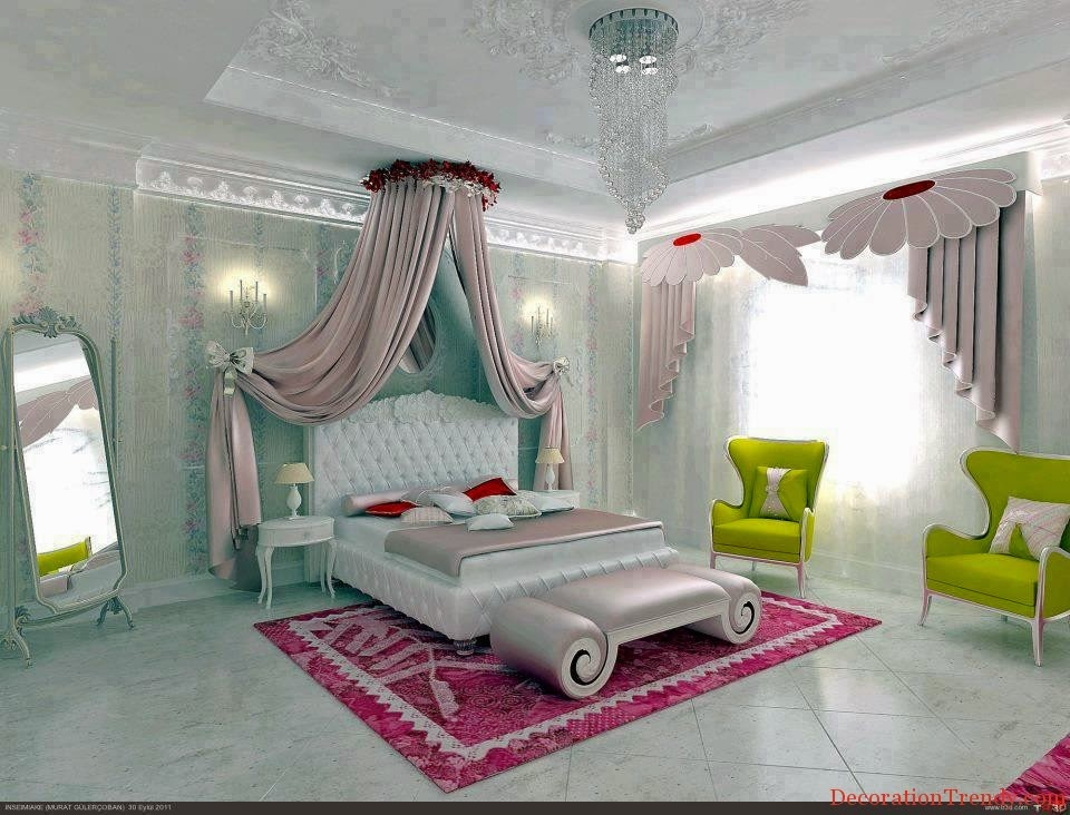 Dream Bedroom Decor Design for Young Girls