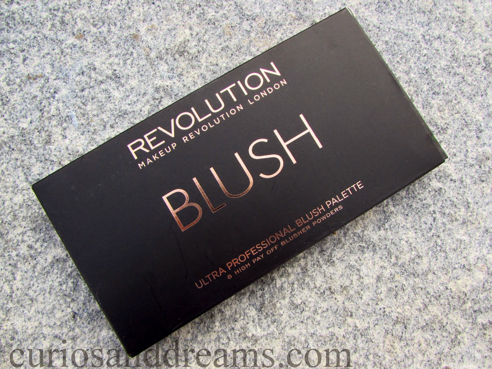 Makeup Revolution London All About Cream Blush Palette review, Makeup Revolution London Cream Blush Palette review