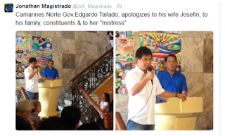 Governor's Apology