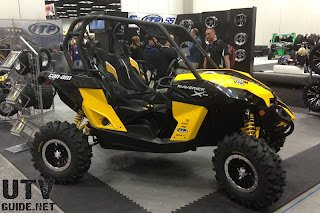 Can-Am Maverick with ITP SD Series Beadlock wheels