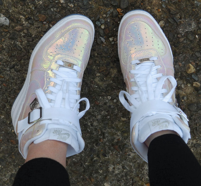 Nike Lunar Force 1 Sky Hi trainers