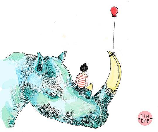 Ilustración, Cosas de Cindy Gómez