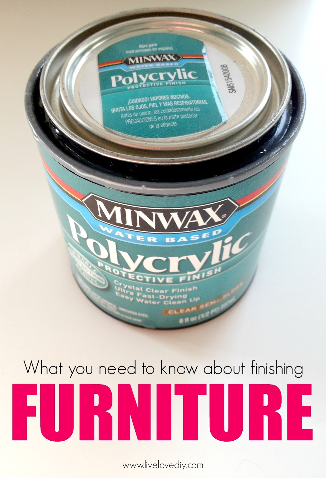 livelovediy how to paint laminate furniture in 3 easy steps. Black Bedroom Furniture Sets. Home Design Ideas