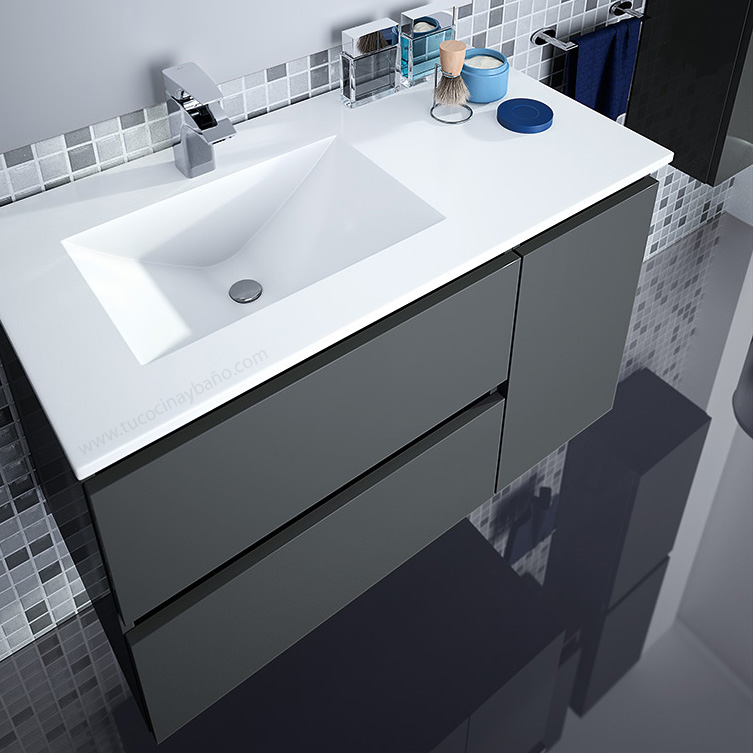 Muebles para bano doble lavabo for Mueble 2 lavabos