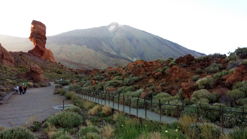 teide volcano and los roques