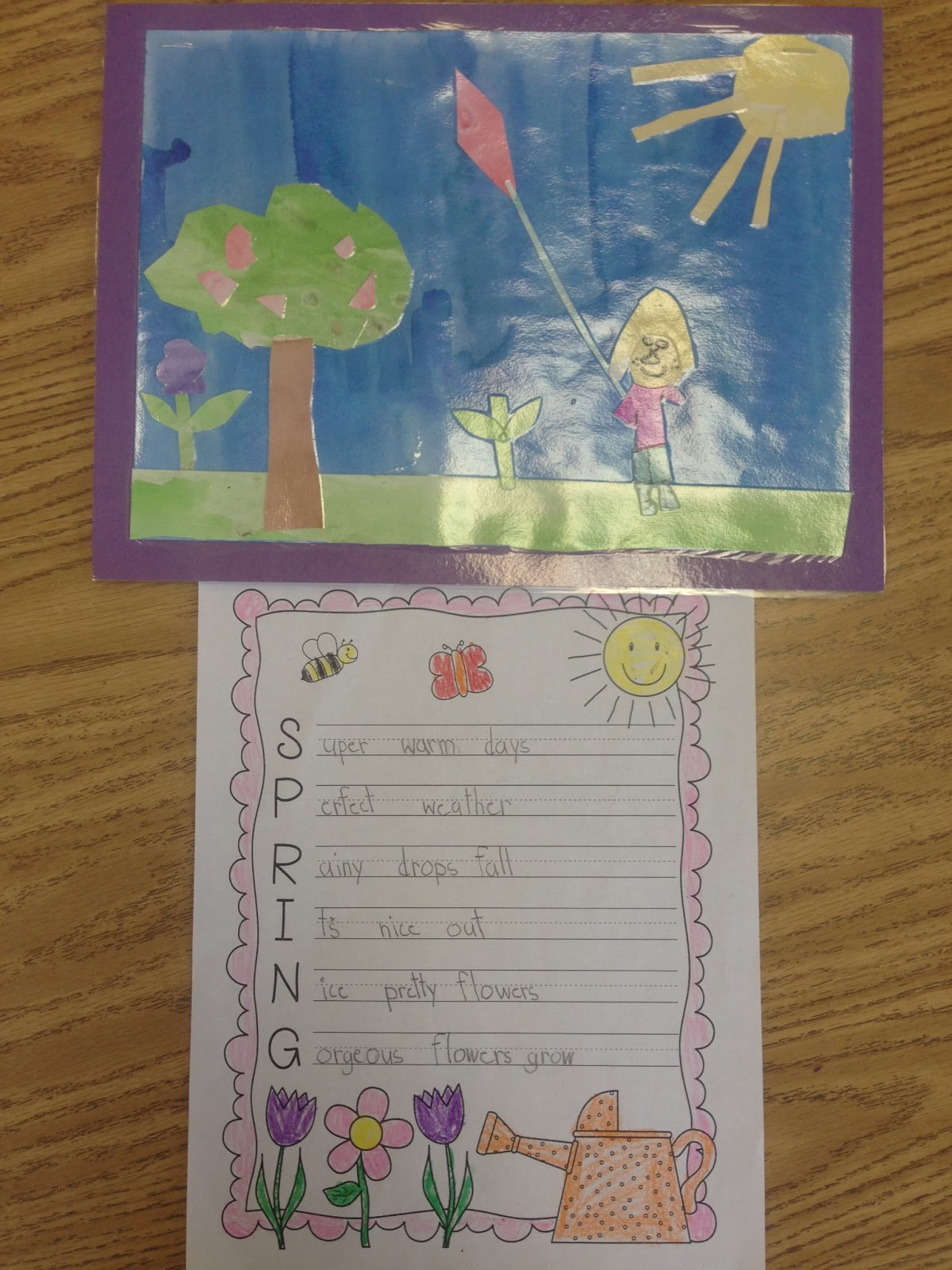 A Sunny Day In First Grade Spring Writing
