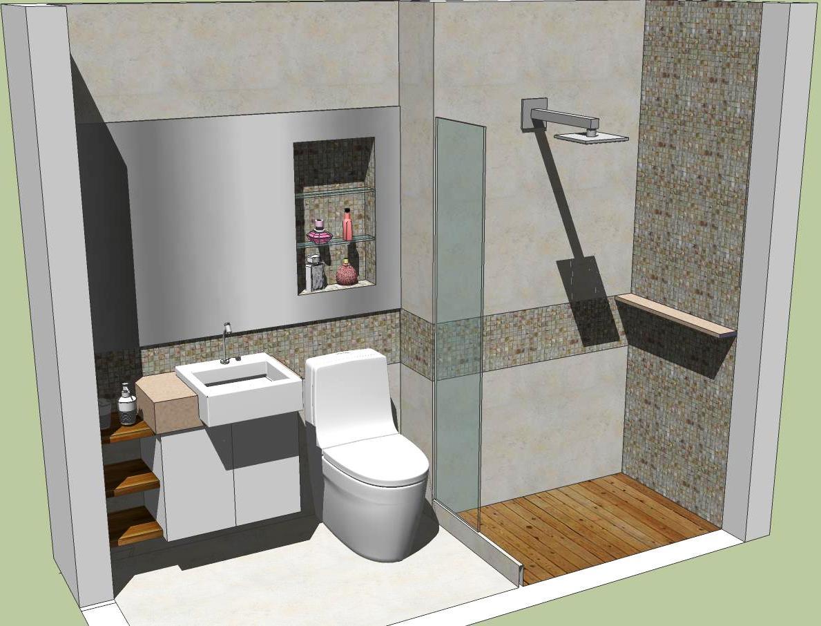 JOANA PAULA NOGUEIRA ARQUITETURA DESIGN: Banheiro da Menina #6F4C2C 1189x906 Arquitetura Para Banheiro