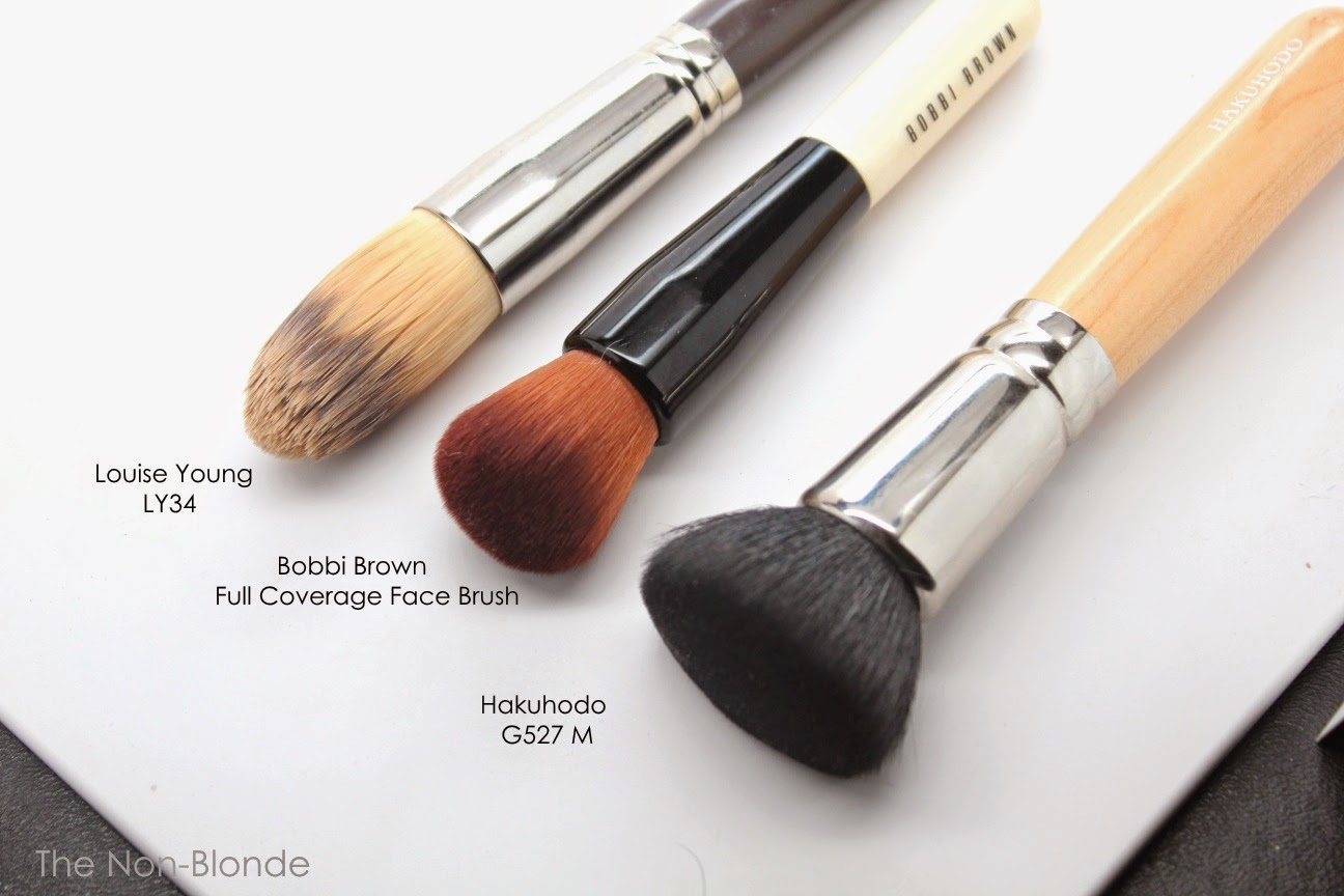 bobbi brown brushes uses. ly34 is floppier and not as soft, hakuhodo g527m made of natural hair meant to only be used with powders. bobbi brown brushes uses s