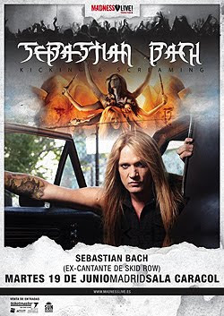 Sebastian Bach en España