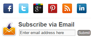 logo link media sosial sidebar blog