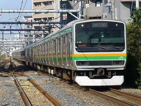 高崎線 快速 大宮行き E231系