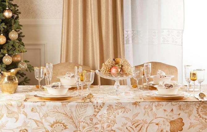 Dorado o plata que tono eliges para decorar tu mesa de navidad whole kitchen - Decorar una mesa de navidad ...