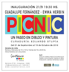MUESTRA ACTUAL: PICNIC. Guadalupe Fernández - Emma Herbin