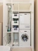 Einbauschrank als Waschküche