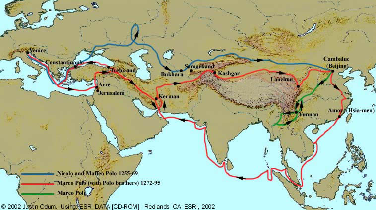 the life and times of popular heroic traveler and trader marco polo Marco polo was, of course, the world's most famous traveler he was the author of the first real travel book – written in about 1300 – in which he.