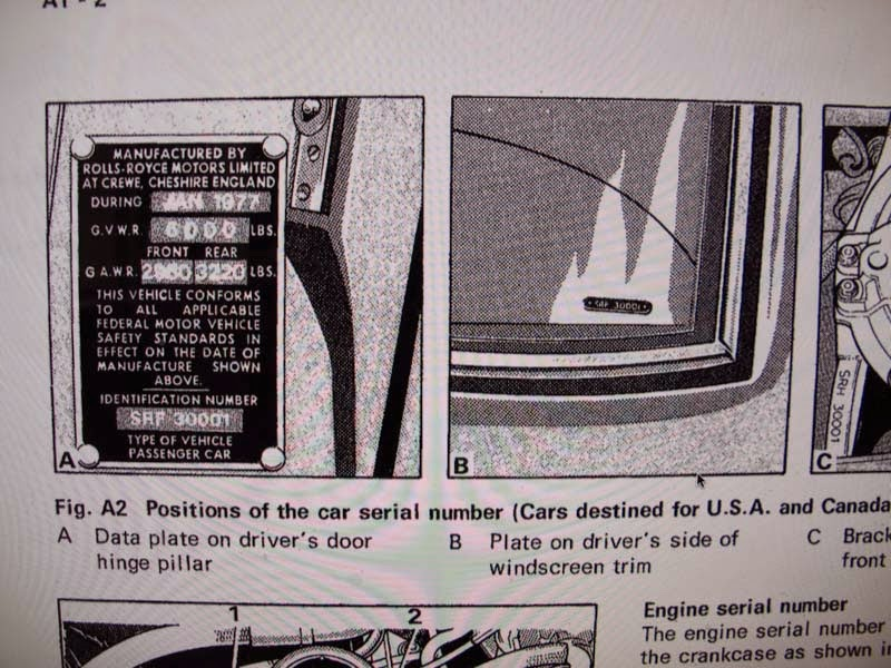 About Auto Care: Interpreting body and engine serial numbers of ...