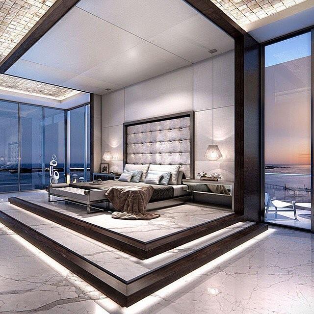 Habitacion de lujo decoracion de cuartos o habitaciones - Dormitorios de lujo ...