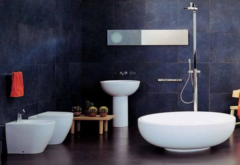 Bathroom design ideas and modern minimalist for Modern minimalist bathroom