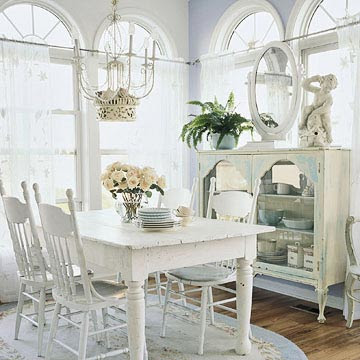 Shabby Chic Home Decor | Kitchen Layout and Decor Ideas