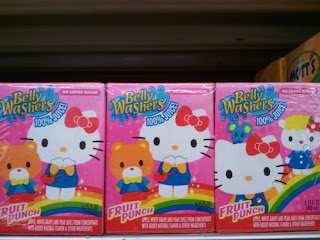 Hello Kitty children's juice box