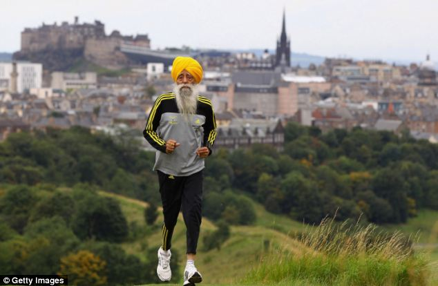 World oldest Marathon runner