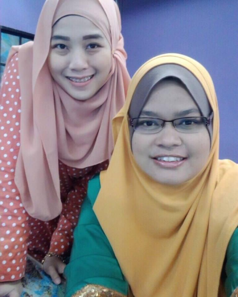 With Iza Ahmad