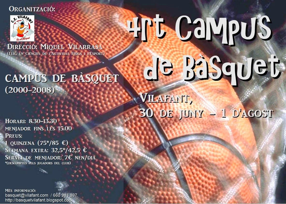 Campus de Bàsquet a Vilafant