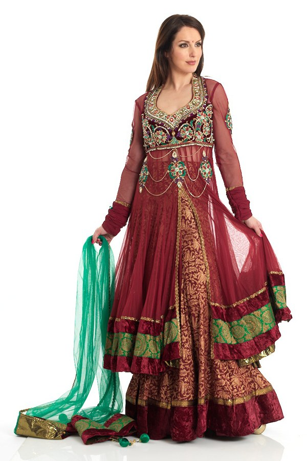 dfgd: latest Double Shirt Dresses 2012-2013 | Anarkali Styles in ...
