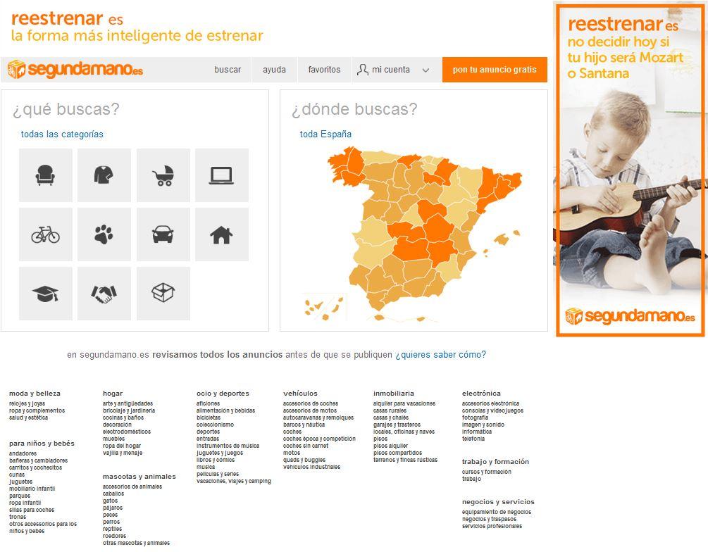 Web segundamano.es