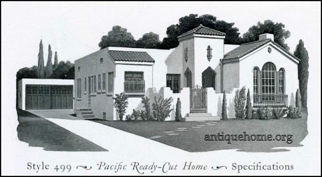 Pacific Ready Cut House Plan::Style 499