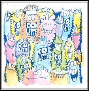 Pochette album CD Colette Kids party