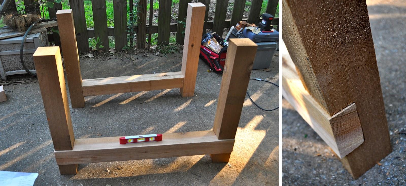 DIY Farmhouse Table   Part One