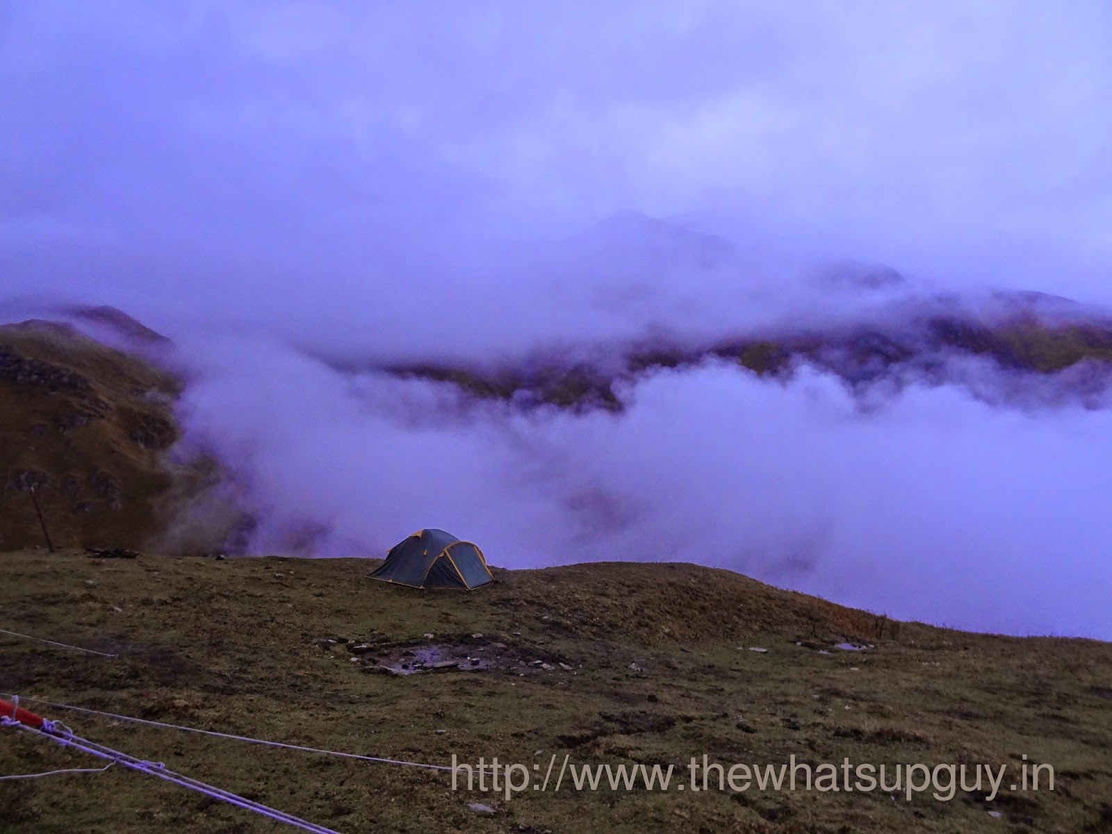 Clouds Roopkund Trek With India Hikes Day 3