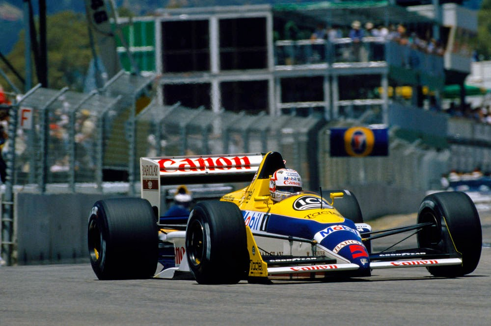 Nigel mansell williamsp dia gp s ries for 2 hermanos salon phoenix az