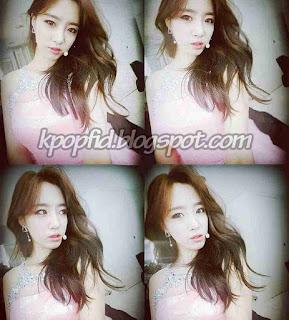 Foto Eunjung T-ara Model Rambut panjang