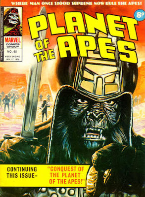 Marvel UK, Planet of the Apes #65, Conquest