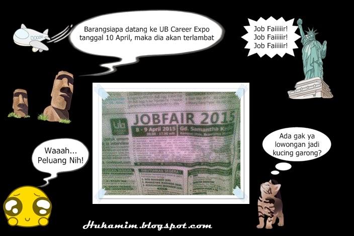 UB Career Expo Job fair 2015 samantha krida universitas brawijaya 8 sampai 9 april 2015