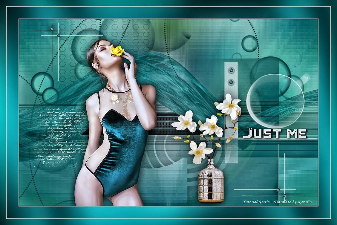 Tutorial PSP Magnifique ~ Just me ~ Translate by Katalin Design