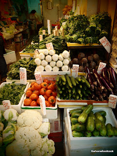 thehomefoodcook - four days of hong kong - vegetables