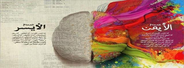 الدماغ وجانباه الأيسر والأيمن