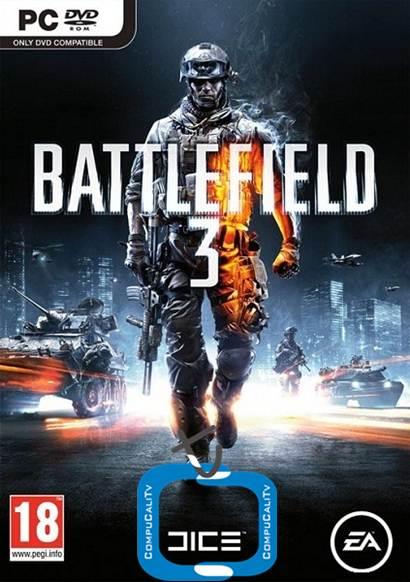 Battlefield 3 PC version Full 2011 ISO (No demo) Clone DVD