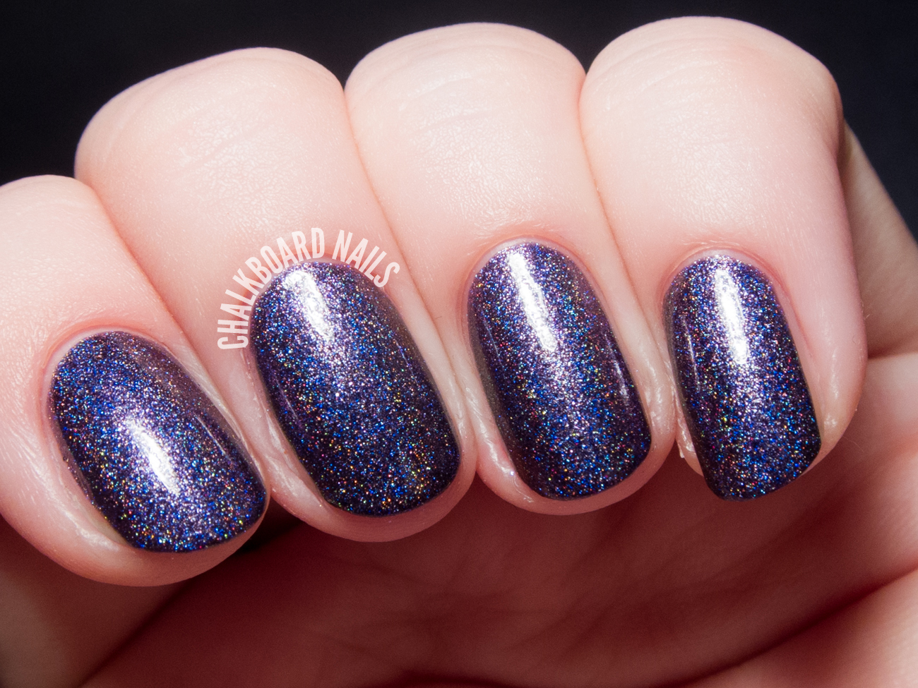 Glam Polish Desperate Souls via @chalkboardnails
