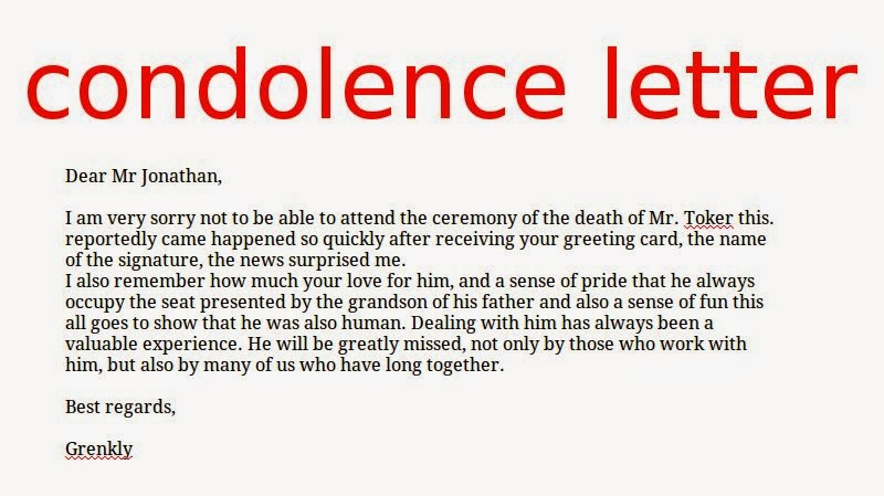condolence letter for loss of mother