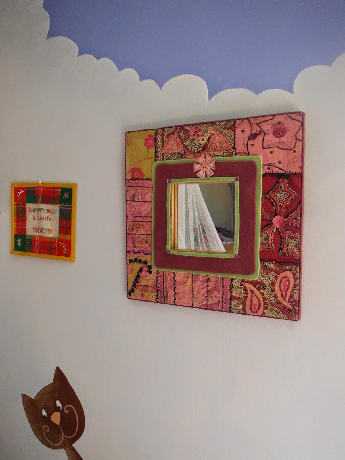 Séverine Peugniez Créations: Miroirs de créateur pour chambre d ...