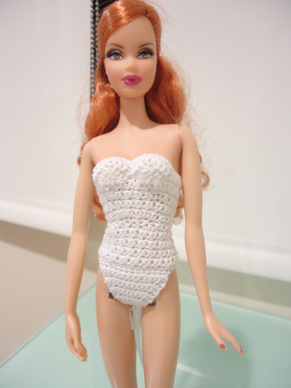 ... new pattern in Hubpages for a Bodysuit/Swimsuit for Barbie doll