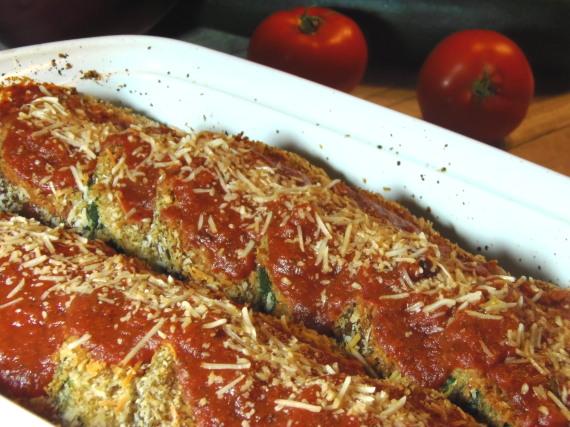 Eggplant And Zucchini Parmesan