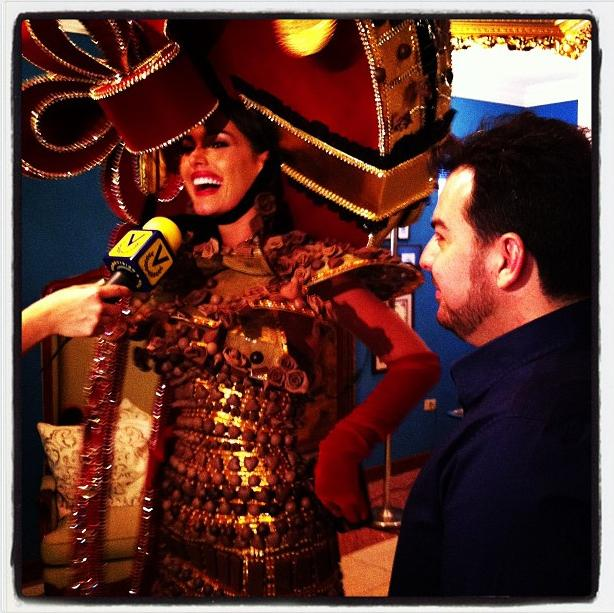 Miss Universe Venezuela 2012 Irene Esser in National Costume