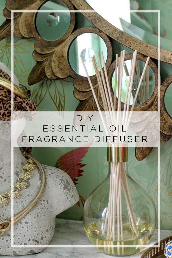 how to make a home fragrance diffuser with essential oils swoon worthy. Black Bedroom Furniture Sets. Home Design Ideas