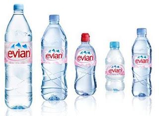 Free Evian Water (BOGO)