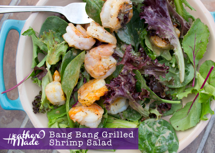 Bang Bang Grilled Shrimp Salad. recipe. bonefish grill shrimp. dinner. lunch. salad.